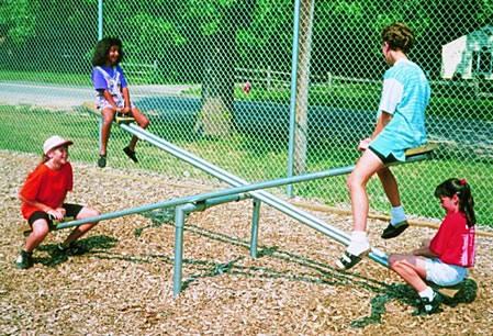 Dehradun Park Equipment Swings See Saw Children Park